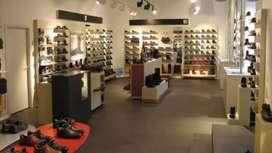 16 x 35 size showroom in main raja park prime location