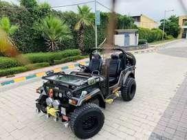Modified open stylish jeep