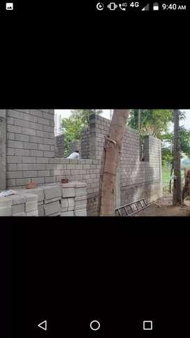 INTERLOCKING BRICKS construction