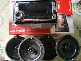 Dijual Audio  bawaan Honda jazz rs