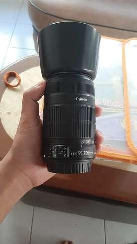 Canon Ef 55 250 lensa tele canon