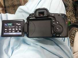 Canon 60D with 1 lens and 64GB micro SD card