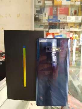 Samsung note 9 warna biru fullsett mulus 99%