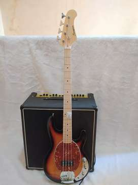 Bass Elektrik maple senar 4 by scorpion