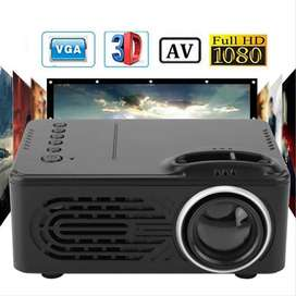 RD814 Mini Projector Battery LCD LED Projector Portable RD-814 Home Th