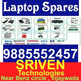 Laptop Spares : All Branded All Models Ready - SRIVEN TECHNOLOGIES VIJ