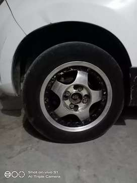Alloy and tyre