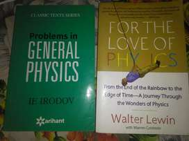 General physics IE IRODOV + FOR THE LOVE OF PHYSICS