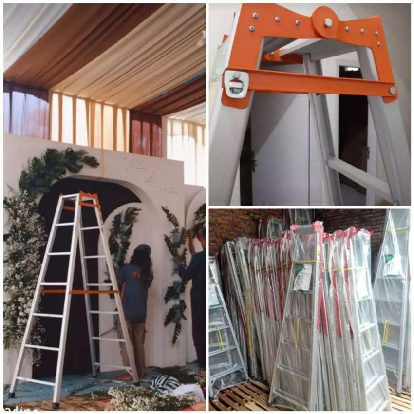 Promo tangga lipat alumunium