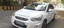 Want fto Sell verna Fludiv Family used vehicel Sunroof extra fitted