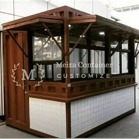 PRE-ORDER BOOTH SEMI CONTAINER |^ CONTAINER COCOK UNTUK BUKA USAHA