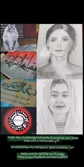 Sketch/Portrait/Calligraphy/Painting