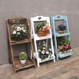 Wooden Plant Stands and Diffrent Wooden Items