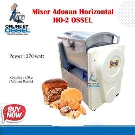 Mixer Adonan Berat Horizontal Mixer Roti HO-2 Ossel