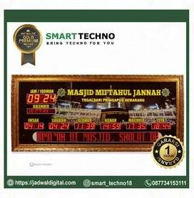 Jam Digital tipe gold premium besar dan megah garansi
