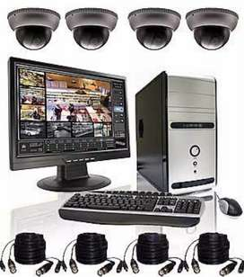 CCTV installation and computer laptop repair training