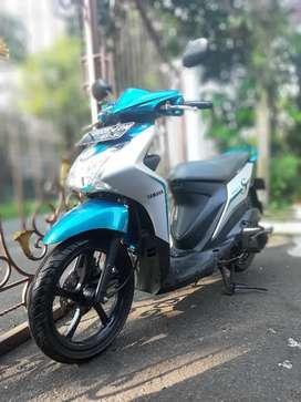 Yamaha Mio S tahun 2018, (pembelian dan pemakaian 2019) Hijau Tosca
