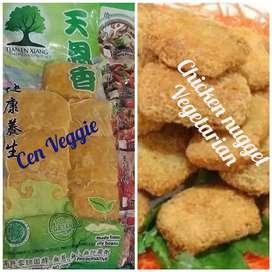 Chicken nugget vegetarian