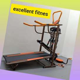 treadmill manual 6 fungsi FC-8003 D-47 tredmil alat olahraga