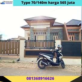 Rumah komersil mewah bandar Lampung