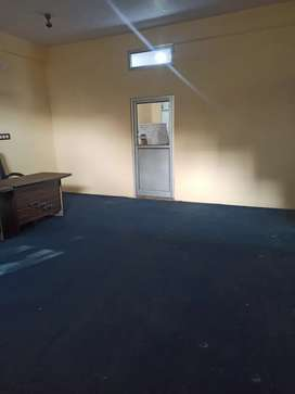 2 room + 1 bathroom for office work or for godown and available for pg