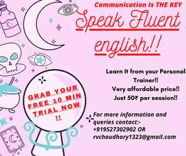 Learn to Speak fluent English (Beginner To Advance) + Free trial Class