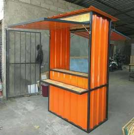 Booth semo container