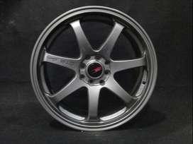 yuk order Velg GTR SPORT 514 HSR R17X7 H8X100-114,3 ET38 SMG (1)