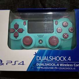 Stik ps4 blue plus kotak stick ps 4