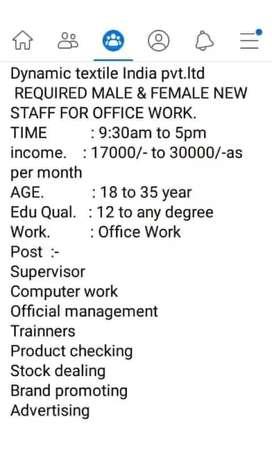 Full time work form all Chhattisgarh