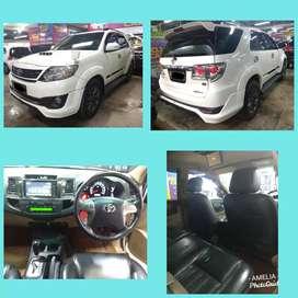 Toyota Fortuner VNT TRD A/T DISEL 2013 Putih Pajak Panjang