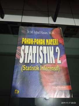 POKOK-POKOK MATERI STATISTIK 2 (STATISTIK INFERENSIF)
