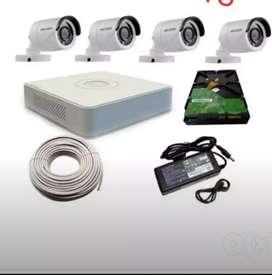 FULL HD CCTV HIKVISION SETUP WITH INSTALLATION