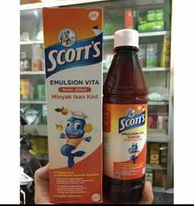 Ready stock Scott emulsion rasa jeruk