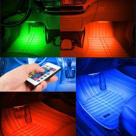 SAARMAT Lampu LED Car Interior Light 5050 RGB
