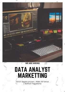 Lowker untuk Staff Admin & Data Analyst