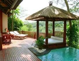 Saung Gazebo kolam renang 2x2m ready stok freongkir