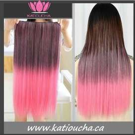 Clip in hair extension,