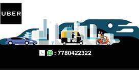 Earn with Uber Bike/ Car/ Auto