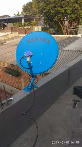 Parabola antena mini mantup