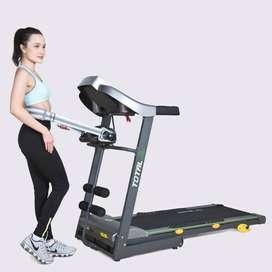 Alat Olahraga Gym Rumahan Treadmill Elektrik Merk Total Fitness TL 288