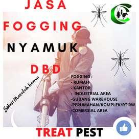 Jasa Anti rayap Fogging Nyamuk Disinfektan basmi hama Gresik