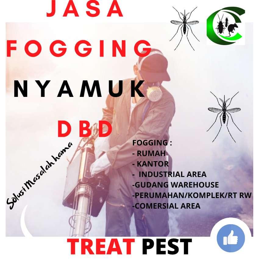 Jasa Anti rayap Fogging Nyamuk Disinfektan basmi hama Gresik 0