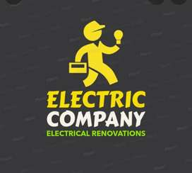 Urgent need for electrician for male candidate fixed salary 16000