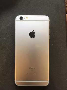 Perfect Condition iPhone 6s plus Nearly used with Transparent backcove