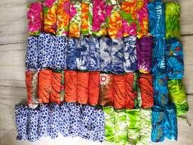 STOCK LOT - Salwar-Skirt-Legging-RayonFabric-Socks-WrapRound-Dupatta