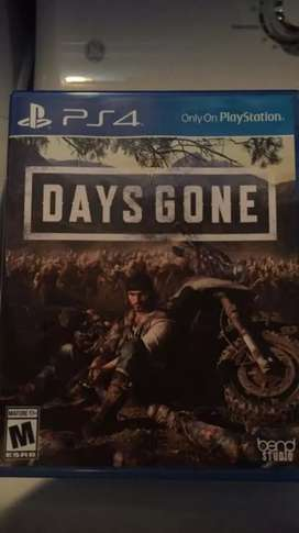 PS-4 Days Gone