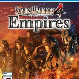 BD PS4 SAMURAI WARRIORS 4 EMPIRES REG2