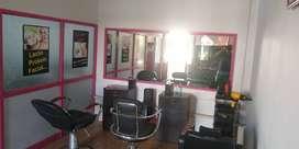 Ladies Beauty parlour for sale