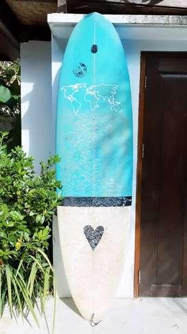 Diverse Custom Surfboard, 7'0, 22, 2 7/8, 50.4L